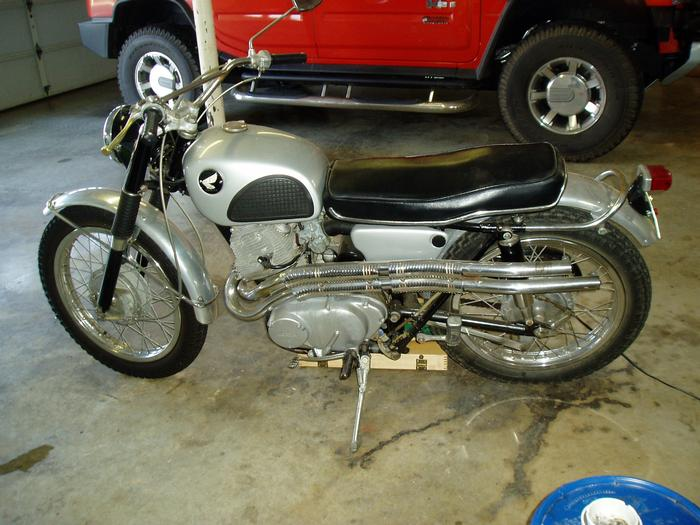 1965 Honda CL72 - $2600.
