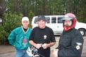 Mick Andrews Bruce Caldwell and Mark Maynard at the mudpit called Waldo