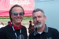Peter Fonda and Brad at Delmar