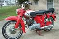 1963 Honda Benly 160 (sold for $1400)