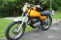1972 Yamaha DT250 - left front view