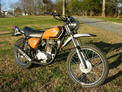 1975 Honda XL175 Orange PHendricks 002