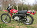 1972 Kaw 175 enduro red FL 003