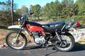 1976 Honda XL350 left side view