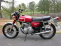 1973 Honda CB350-4 no rack 001