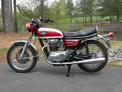 1972 Yamaha XS 650 red white 001