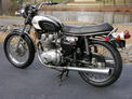 1971 Triumph Trident 5 speed blk and white 107 post svce 001