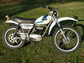 1975 Ossa Explorer 250 white blue from Bike Week 07 004