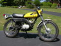 1970 Yamaha AT125 yellow EdDave 508 003