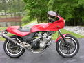 1979 Honda CBX red bodywork detailed 25k 508 005