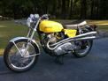 1970 Norton 750S Yellow hipipe 1007 001