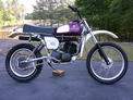 1976 Husqvarna 360 Cross Country after 607 004