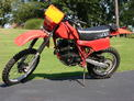 1982 Honda XR250 red 908 001