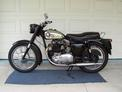 1961 BSA Goldent Flash in black