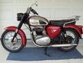 1963 BSA A65 red orig