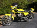1975 Yamaha RD350 Streetracker yellow black 1108 003