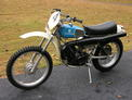 1977 Husqvarna CR175 Blue 1108 001