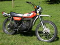 1975 Yamaha DT250 orange white 2.9k after Nick 609 002