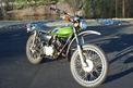 1975 Kawasaki 175--just like the the last bike I had before my 25 year hiatus