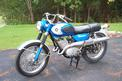 1968 Suzuki 250 Scrambler -- sold for $1800