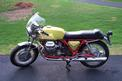 1972 MotoGuzzi V7 -- sold for $10,500