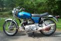 1972 Norton Commando--left side view