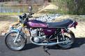 1975 Kawasaki H2 750 Purple with chambers 001