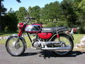 1968 Yamaha 180 Red 001