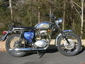 1970 BSA 650 Lightning Blue
