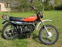 1975 Suzuki TS 185 orange e-start 002