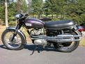 1973 Triumph Trophy 500 purple Campbell 1