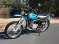 1975 Kaw 175 Enduro Blue semi restored 002