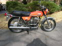 1975 Yam RD350 orange Clint AL