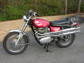 1970 BSA Firebird Scrambler red OH 002