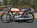 1972 Suzuki 500 Titan Orange white Thompson 001