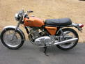 1971 Norton 750 Commando orange flake 001
