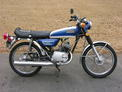 1971 Yamaha LG2 Blue and white 002