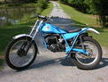 1978 Bultaco 199A blue restored 6-06 002