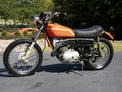 1972 Kaw f8 250cc Orange enduro 1006 001