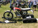 Triumph TR6 with sleds and treads BBR 607 002