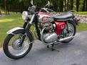 1968 BSA Lightning 650 red chrome Crone 607 001