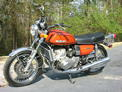 1974 Suzuki GT750 WB orange gold FL 307 004