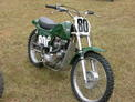Triumph 650 Rickman MX at Aonia 9-05