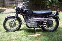 1967 Honda CL77 Rose black 708