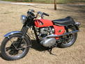1966 BSA Hornet Scrambler Orange Crone 209 001