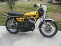 1974 Yamaha RD350 Yellow black Yoder 309