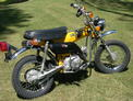 1974 Honda ST90 yellow after 709 005