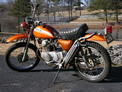 1971 Honda SL175 orange Carpenter before 210 002