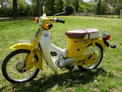 1981 Honda C70 yellow PH 410 004