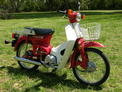 1983 Honda C70 red PH 410 002